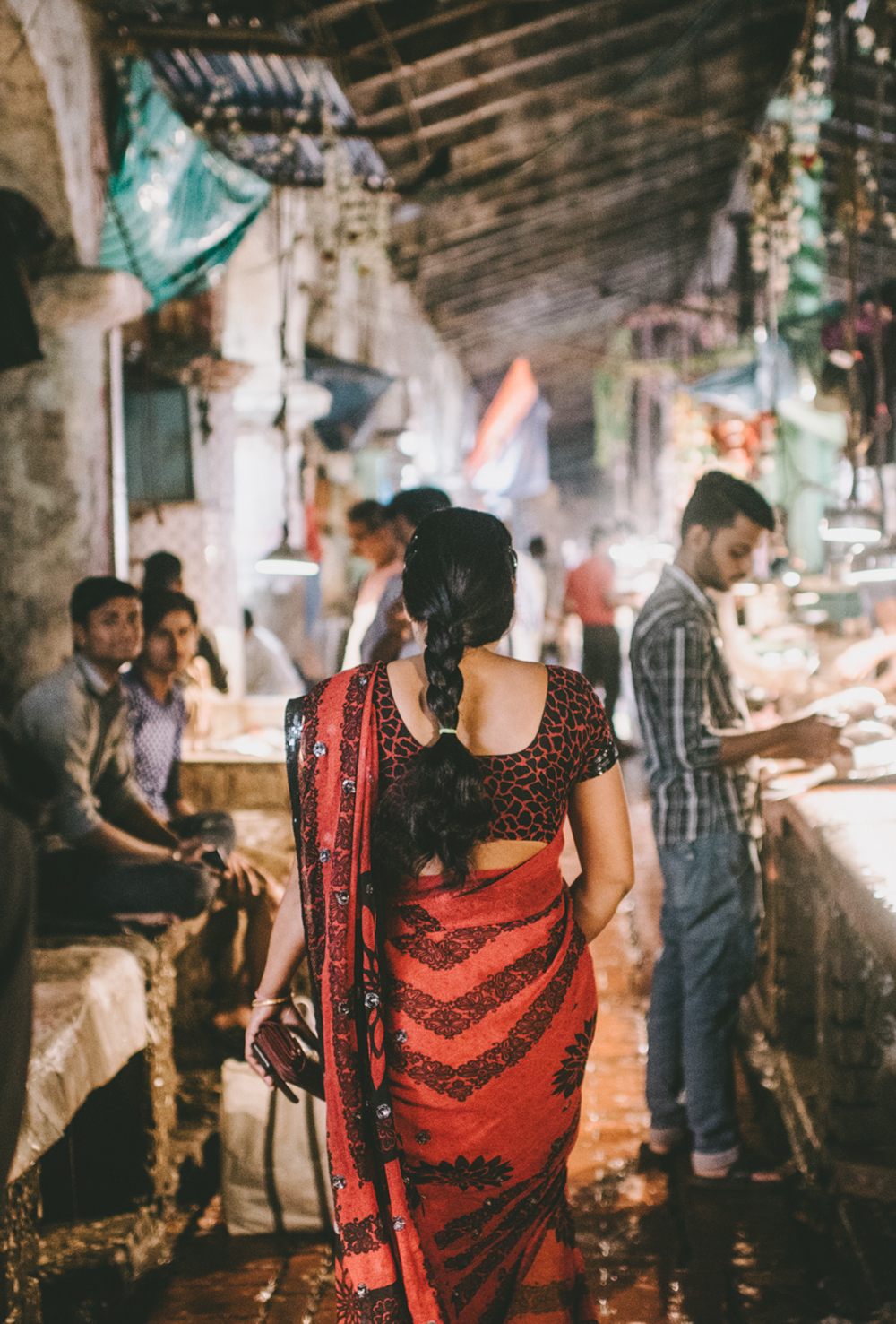 woman market kolkata