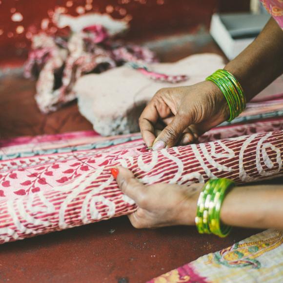 sari bari sari blanket sewing