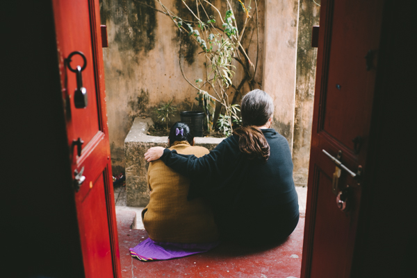 sari bari friend comfort family community