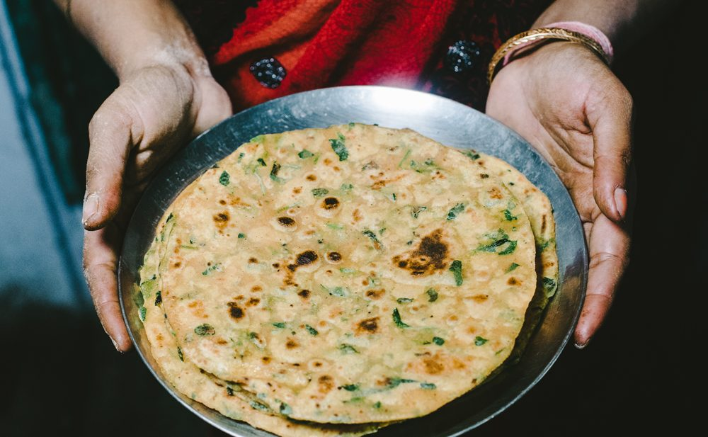 paratha methi fenugreek