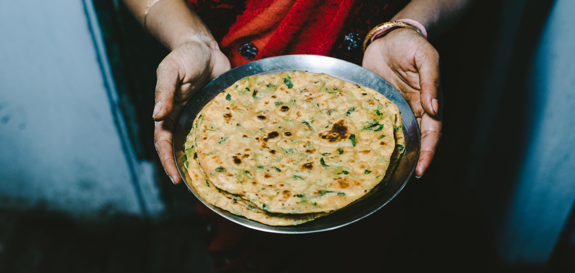 methi paratha fenugreek
